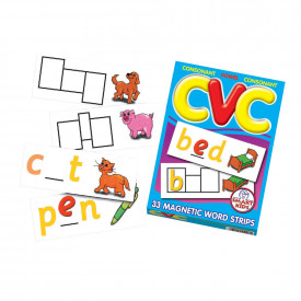 CVC Magnetic Word Strips