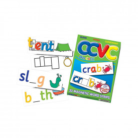 CCVC & CVCC Magnetic Word Strips
