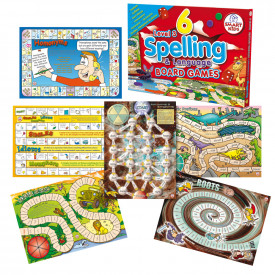 6 Spelling Board Games Level 3