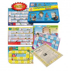 6 Reading Comprehension Board Games