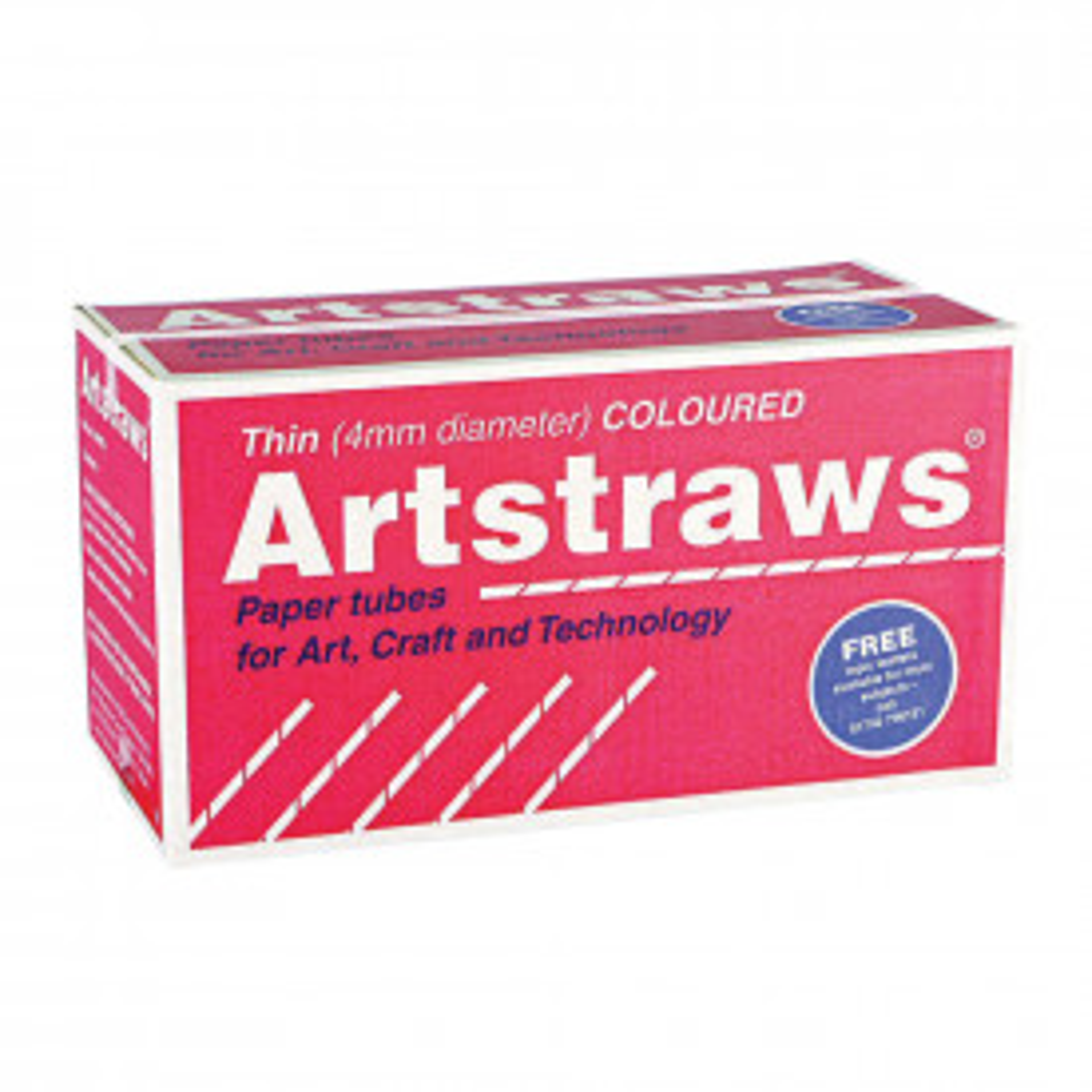 Standard Coloured Artstraws