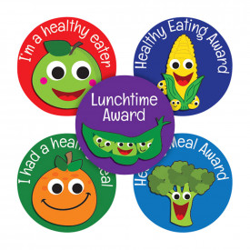 Healthy Eating Motivational Stickers