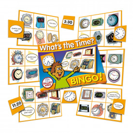 What's the Time? Bingo!