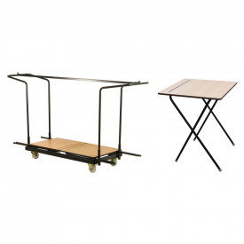 Folding Exam Desk and Trolley Offer