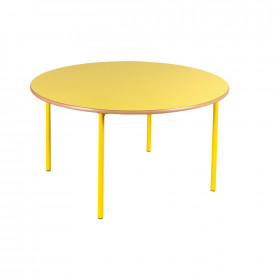 Circular Coloured Frame Table
