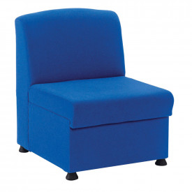 Value Glacier Upholstered Reception Chair