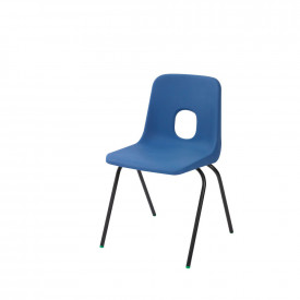 Blue and Red Hille E-Series Chair - Standard Shell