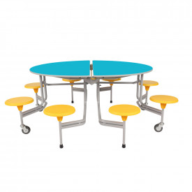 SICO® 8 Seater Graduate Oval Table Seating Unit