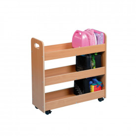 Wooden Lunchbox Trolleys