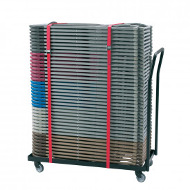 BIG DEAL 2200 Folding Chair Transport Trolley and Chair Bundles