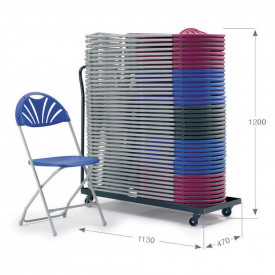 2000 Folding Chair and Trolley Bundle Offer