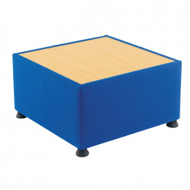 Glacier Upholstered Reception Table