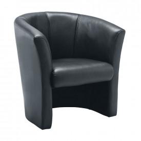 Leather Look Tub Chair