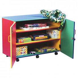 Colour My World Mobile Storage Cupboard