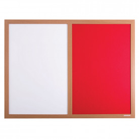 Eco-Friendly Wood Effect Frame Pinup Pen Board