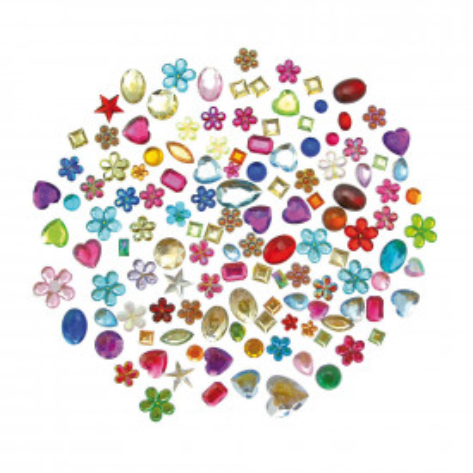 Peel & Stick Acrylic Gems