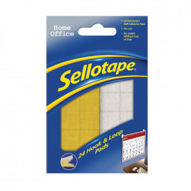 Sellotape® Hook and Loop Pads