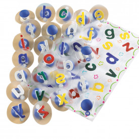 Lowercase Alphabet Paint Stampers