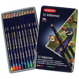 Derwent Inktense Colouring Pencils