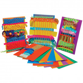 Rainbow Weaving Cards