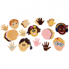 Multicultural Heads and Hands