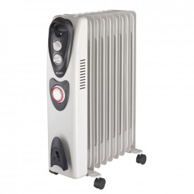 2kW Oil Filled Portable Radiator