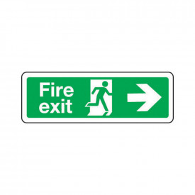 Fire Escape Signs - Arrow Right