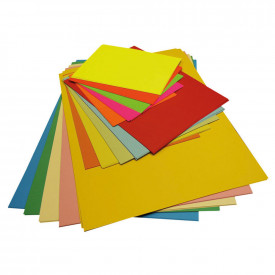 Assorted Colour Card Pack