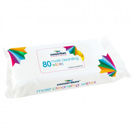 The Consortium Moist Cleansing Wipes
