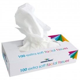 The Consortium Extra Soft 2 Ply Facial Tissues