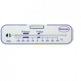 Horizontal Fridge & Freezer Thermometer