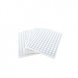 Value Mini Whiteboards with Grid Squares