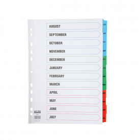 Academic Index Dividers