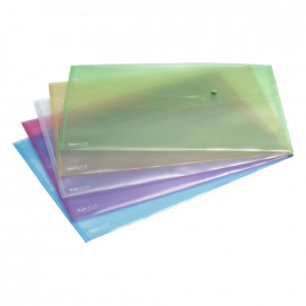 Rapesco A3 Pastel Popper Wallets