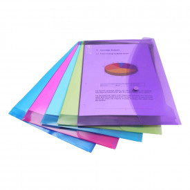 Popper Wallets Plastic Wallets And Laminating Pouches