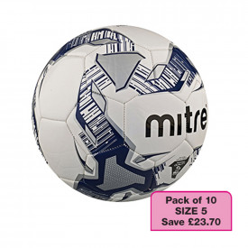 Mitre Size 5 Football Set - 10 Pack