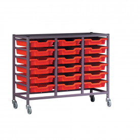 Metal Tray Storage Trolleys - Frame and Runners