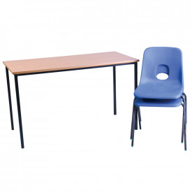 BIG DEAL Hille Classpack 1 Table and 2 Hille Chairs