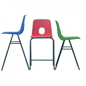 Hille Series E High Back Stools