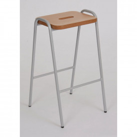 Natural MDF Top Stool