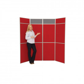 Fold-Up Display Screens