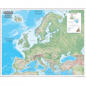 Reversible Map of Europe
