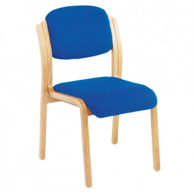 Curved Wooden Side Chairs