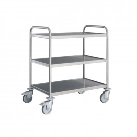 Stainless Steel Serving Trolleys