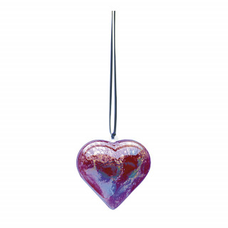 Colorations® Clear Heart Ornaments
