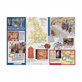 Roman Britain: Invasion & Conquest Poster