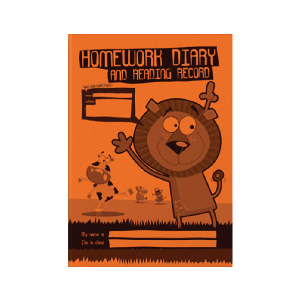 Homework Diary and Reading Record Book - Reading, Spelling