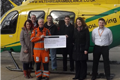 Staff at The Consortium raise over £11,000 for Wiltshire Air Ambulance