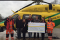 Staff raise thousands for Wiltshire Air Ambulance