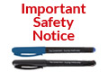 Important Safety Notice: The Consortium Branded Handwriting Pen